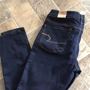 AE Blue Jegging Jeans